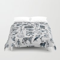 ink Duvet Covers featuring INK by DIVIDUS