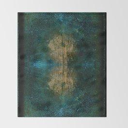 Iron Oxide Dragonfly Throw Blanket