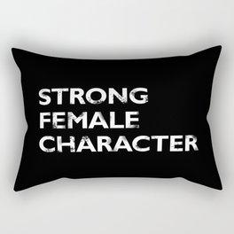 Strong Female Character Rectangular Pillow