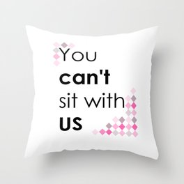 ITS PINK DAY Throw Pillow