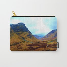 Glencoe, Scottish Highlands, in the Autumn Carry-All Pouch