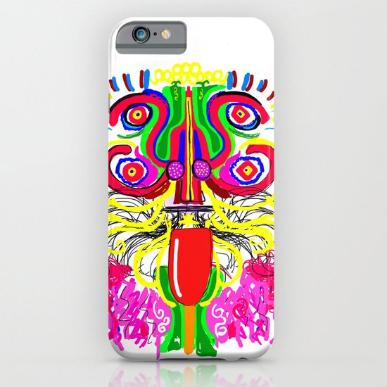 Maya lion iPhone & iPod Case