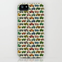 Cars and Trucks iPhone Case