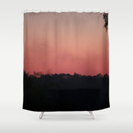 Smoke Haze Shower Curtain