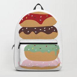Mountain of Donuts in my Dream Backpack