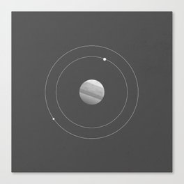 Two Moons of Mars Canvas Print