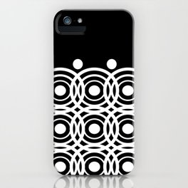 Hypno Circles iPhone Case