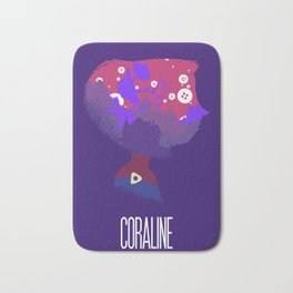 The Many Faces of Cinema: Coraline Bath Mat