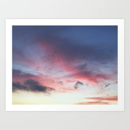 another sunset photo Art Print