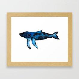 Swimming in Stars Framed Art Print