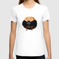 watch T-shirts featuring Cinnamon's Watch by MUSENYO