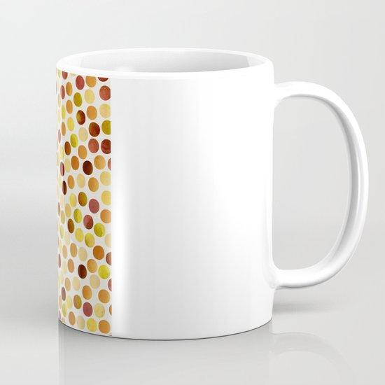 Watercolor Dots_Amber Mug