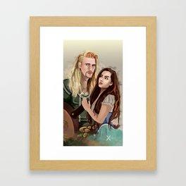 D'Bagel Framed Art Print