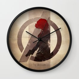Avengers Assembled: The Assassin Wall Clock