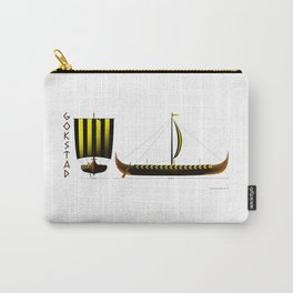 Gokstad Viking Ship Carry-All Pouch