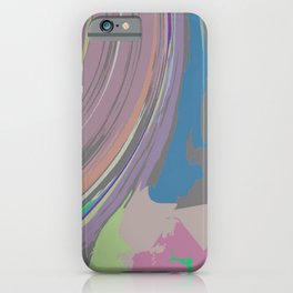 PINK FLOW iPhone Case