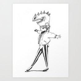 Wear My Moods Art Print