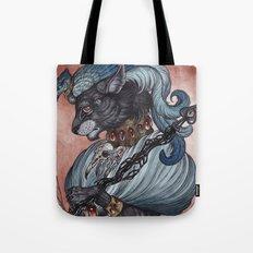 Jack of Spades art print Tote Bag