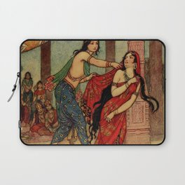 The ordeal of Queen Draupadi Laptop Sleeve