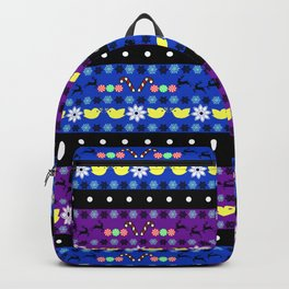 Winter Sweater Backpack