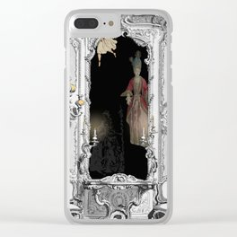 Ghosts in the Mirror II - 17th Century Royalty Clear iPhone Case