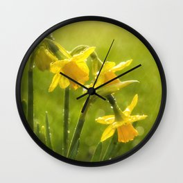 April, April he does what he wants Wall Clock