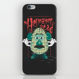 Mr. Hellraiser Head iPhone Skin
