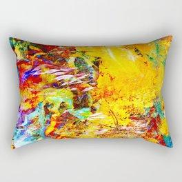 Love Is Coming Through Rectangular Pillow