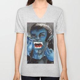 vampire dentist Unisex V-Neck