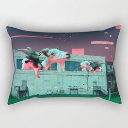 Git Yer Goat (pink) Rectangular Pillow