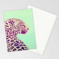Leopard under the Sun Stationery Cards