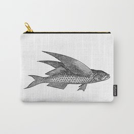 Vintage Flying Fish Carry-All Pouch