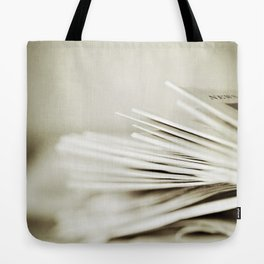 Yesterday's News Tote Bag