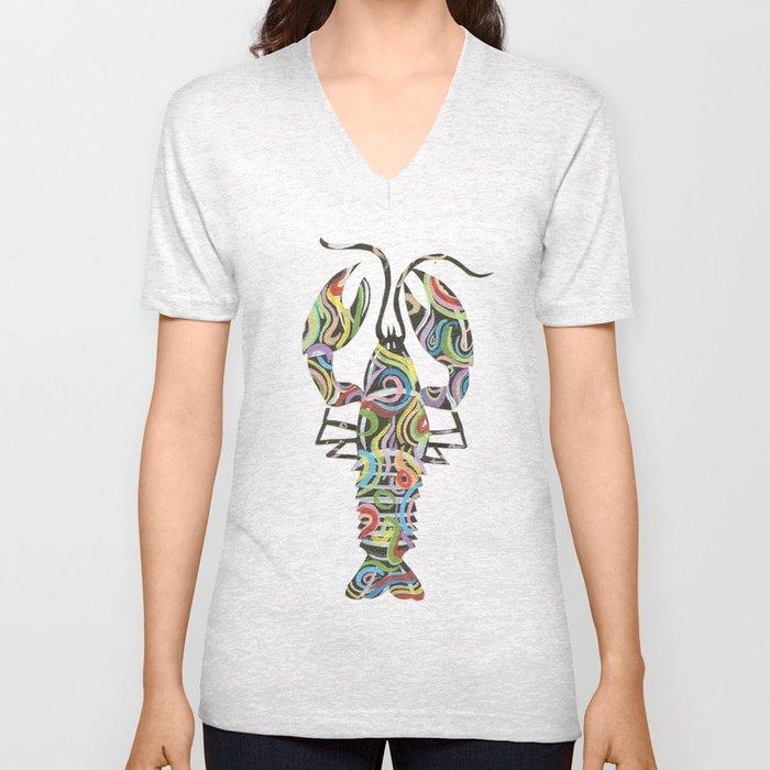 Lobster Unisex V-Neck