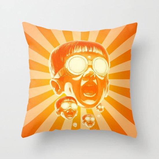 Big Fireee! Throw Pillow