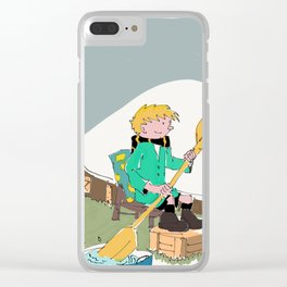 39- Quick & Flupke by Herge Clear iPhone Case