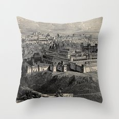 The great controversy between Christ and Satan 1888 Throw Pillow