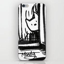 Hidden Kitty iPhone Skin