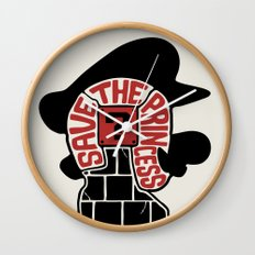 Save The Princess Wall Clock