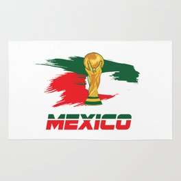 World cup mexico Rug