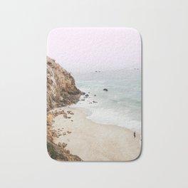 Beach Print - Point Dume, Malibu Bath Mat