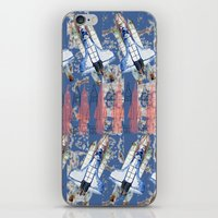 rocket iPhone & iPod Skins featuring Rocket by AnnaW