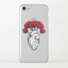 Heart cactus Clear iPhone Case