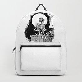 Skeleton waiting Backpack