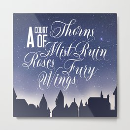 The Courts Metal Print