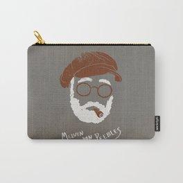 Melvin Van Peebles Minimalist Portrait Carry-All Pouch