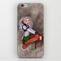tesla iPhone & iPod Skins featuring Tesla by Thedustyphoenix