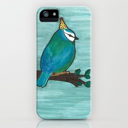 Party Bird iPhone Case