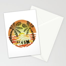 Christmas Sunset Stationery Cards