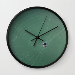 In the spider's net Wall Clock